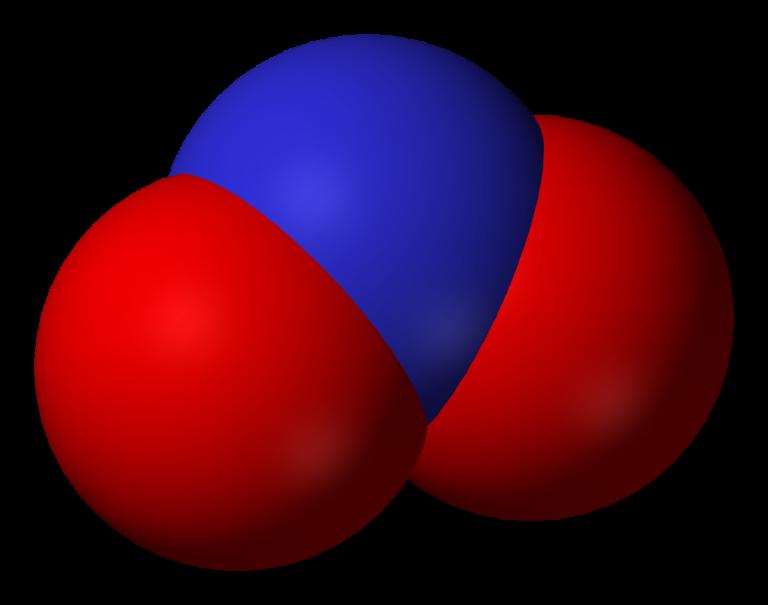 Fish tank nitrite molecule